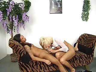 Retro German blonde gets fucked - Venality Productions