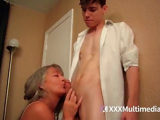 Older step mother plumbs youthful sonny - Leilani Lei