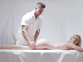 The ultimate lustful fantasy during massage for Cristal Caitlin