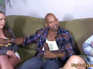 Dirty Talking Stepmom Watches Daughter Nearby Diesel's BBC