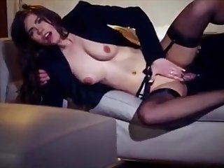 Hot young wife Manon fucked by chunky hard cocks