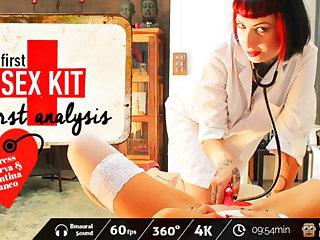 Valentina Bianco & Mistress Minerva close by First-Sex Kit: First Analysis - VirtualPorn360