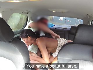 Man fucks this grasping inclusive on the all round rump and fills her with cum