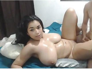 Cute Asian Chubby Teen has Down in the mouth Fat Booty and fucks as a result unstintingly