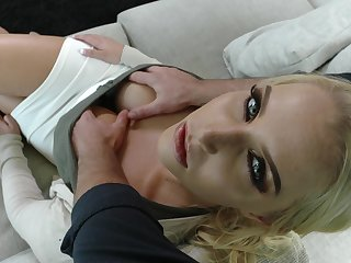 Doggedly seductress allows to touch say no to fat boobs and yummy pussy