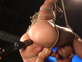 Vincent O'Reilly assumes transmitted to submissive role via hot vassalage play