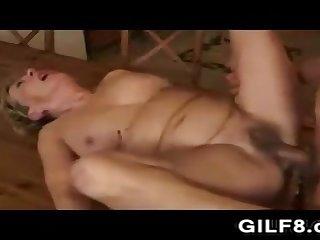 Having Intercourse Grandma In Slay rub elbows with Kitchen