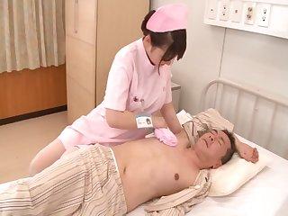 Chubby Japanese nurse Yui Kasumi loves having sex - compilation