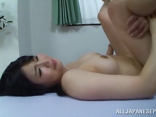 Brunette GF Toru Kozakai from Japan, loves having passionate making love