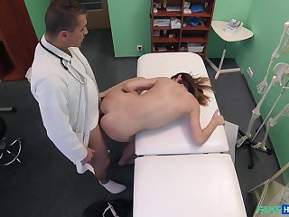 Debase fucks young patient and records will not hear of with regard to secret