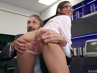 Emily Willis Her First Double Fuck