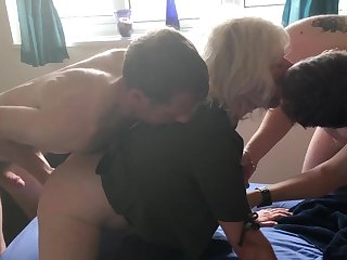 JULIET'S VERY FIRST DOUBLE PENETRATION - four FOUNTAINS, For everyone FUCK HOLES