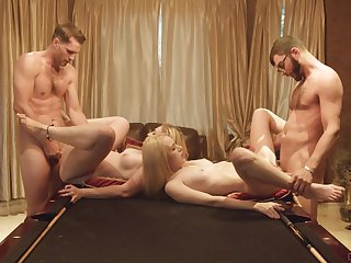 Foursome be beneficial to be passed on young babes after they decide to swap partners