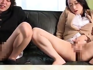 Hairy lesbian licked fingered