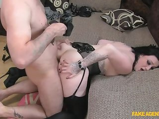 A Mouthful Be fitting of Load of shit Be useful to Rude Brunette